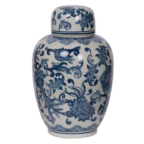 Chartwell Home Amerie Porcelain Temple Jar