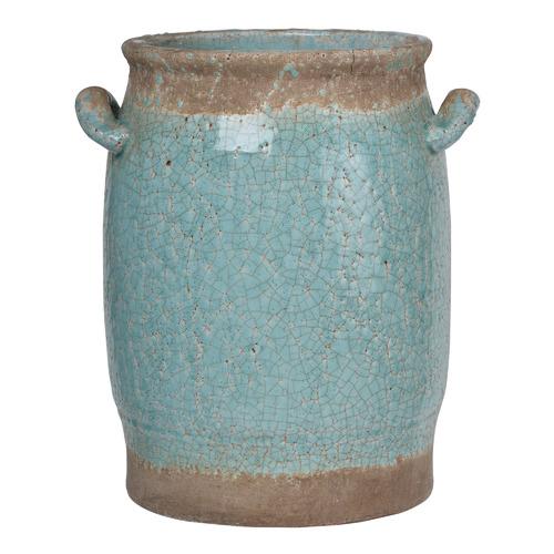 30cm Pale Turquoise Cadence Ceramic Vase