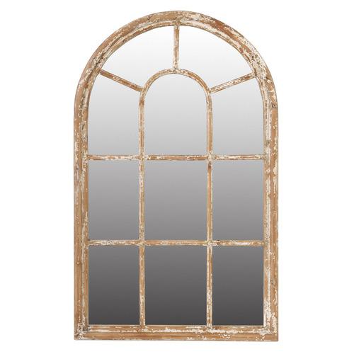 Chartwell Home Natural Erwan Fir Wood Mirror