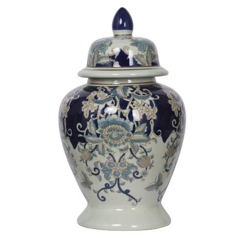 Chartwell Home 42cm Denisha Porcelain Ginger Jar