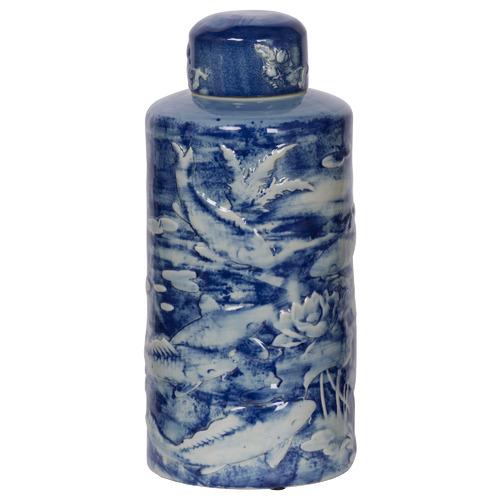 Vespasien Porcelain Temple Jar