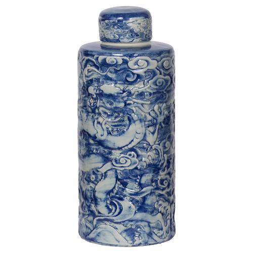 Kalisha Porcelain Temple Jar