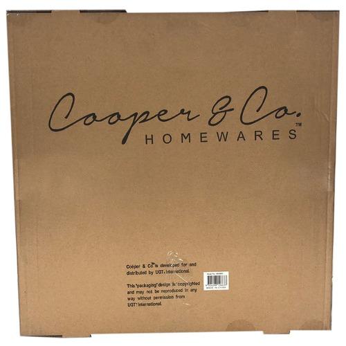 Cooper & Co Homewares Square Cane Willow Mirror