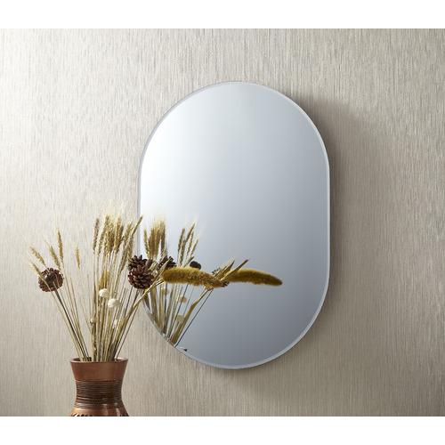 Cooper & Co Homewares Issy Urban Oval Frameless Wall Mirror