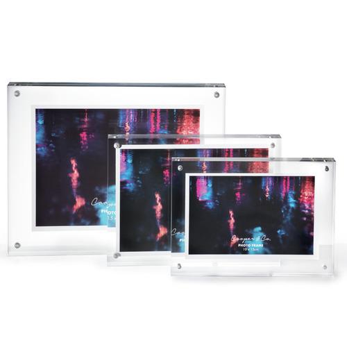 Cooper & Co Homewares Clear Block Acrylic Frame