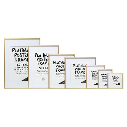 Cooper & Co Homewares Platinum 21 x 26 Metal Photo Frame