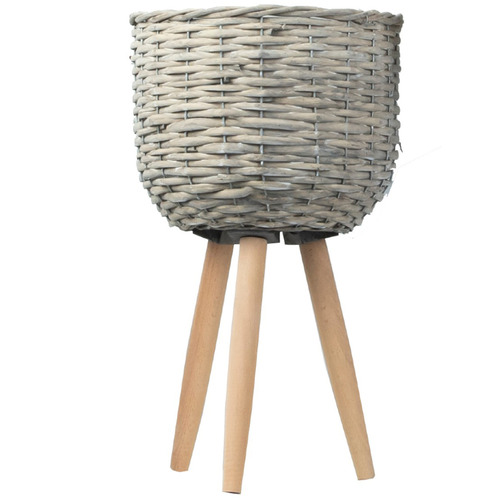 Cooper & Co Homewares Willow Planter on Stand