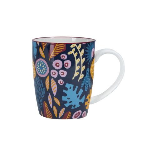 Cooper & Co Homewares 6 Piece Floral Ceramic Mug Set