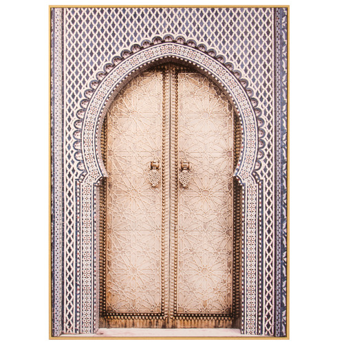 Cooper & Co Homewares Arched Doorway Framed Canvas Wall Art