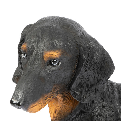 Cooper & Co Homewares Black Dachshund Statue