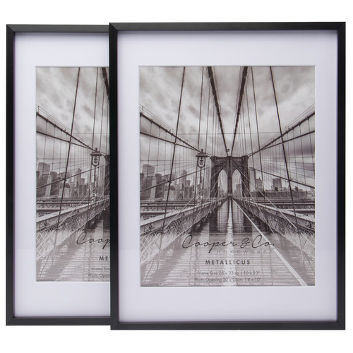 "Matte Premium Metallicus 8 x 10"" - 10 x 13"" Metal Photo Frames"