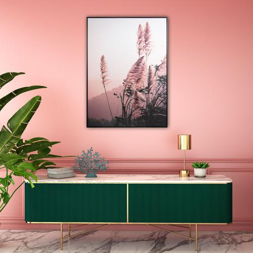 Cooper & Co Homewares Long Grass Framed Canvas Wall Art