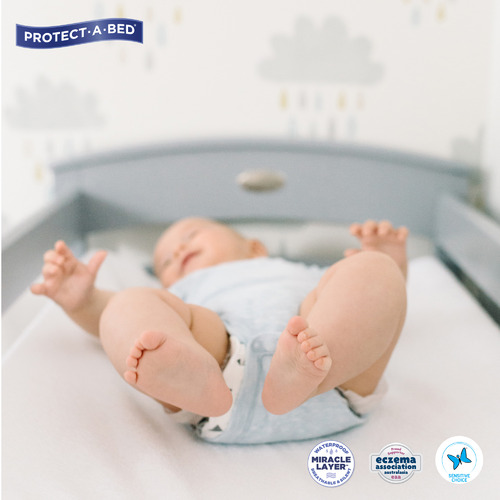 Cooper & Co Homewares 2 Piece Waterproof Terry Cotton Change Mat Cover Set