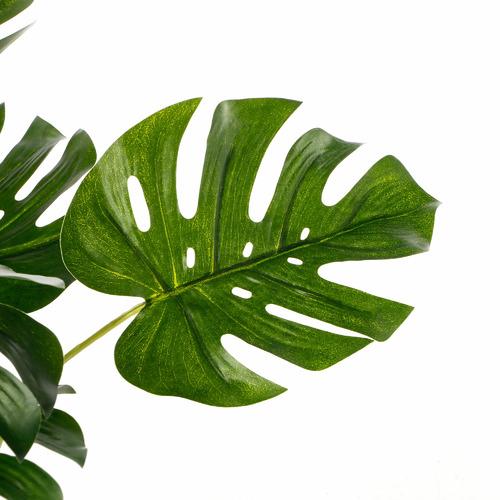 47cm Potted Faux Botanica Monstera Plant