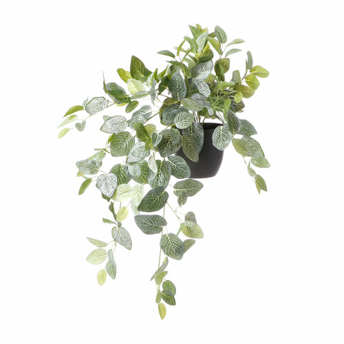 78cm Potted Faux Vein Hanging Plant