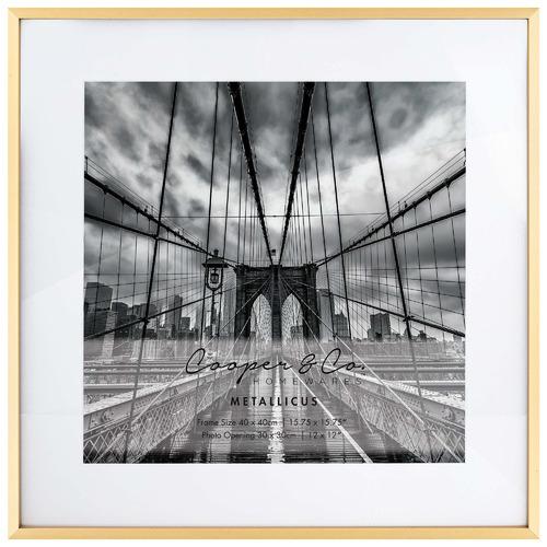 Matte Metallicus Metal Photo Frame
