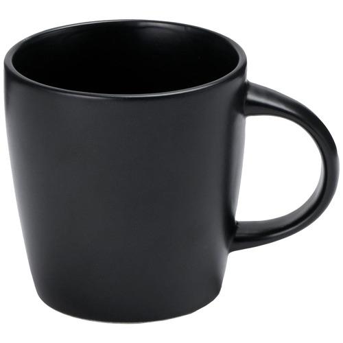 Black Annisa Stoneware Mugs