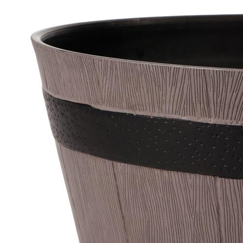 Cooper & Co Homewares 2 Piece Half Barrel Planter Pot Set