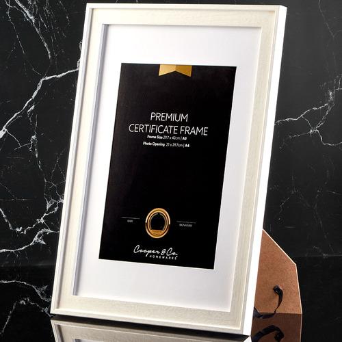 Noose A3 Certificate Frames