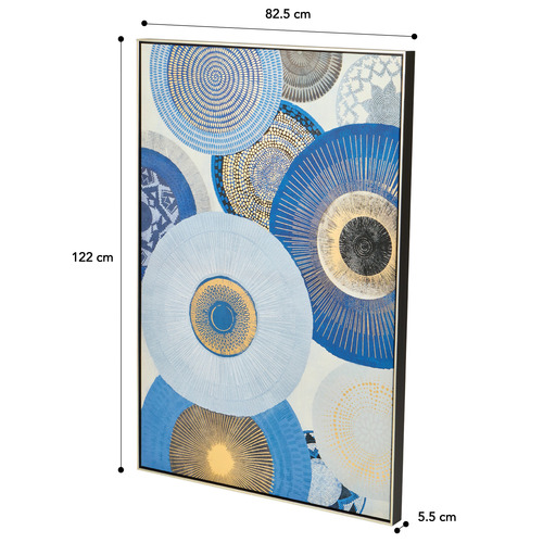 Afternoon Abstract Canvas Wall Art