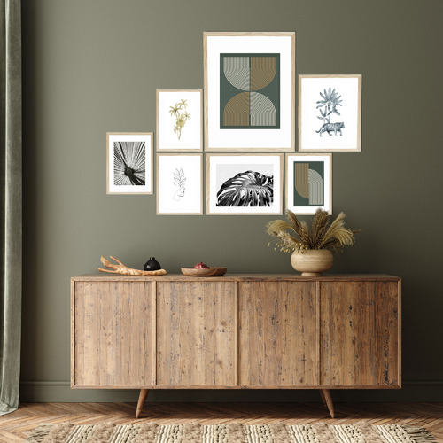 7 Piece Instant Gallery Wall Set