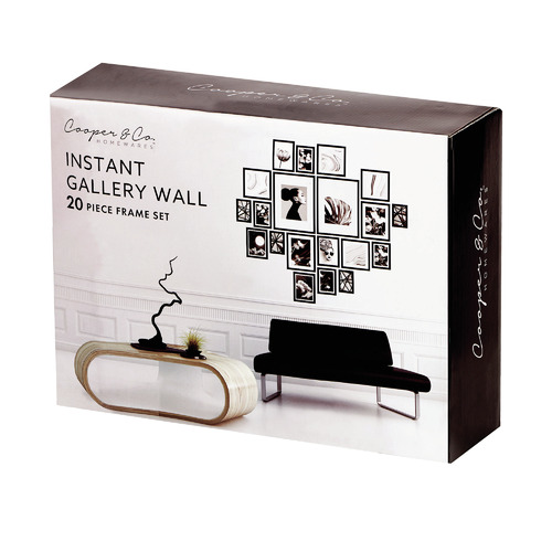 20 Piece Instant Gallery Wall Set