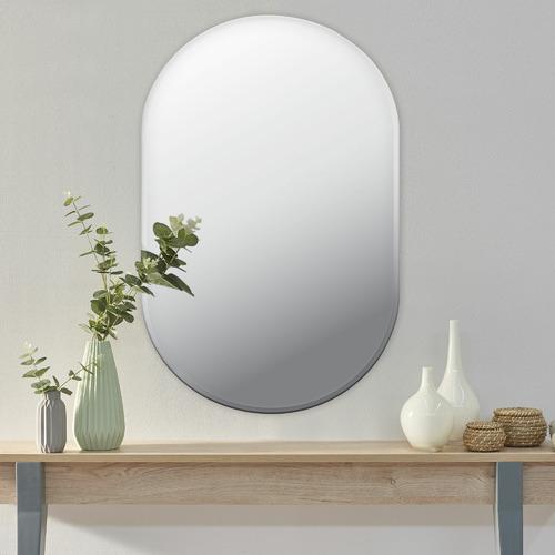 Urban Frameless Oval Wall Mirror