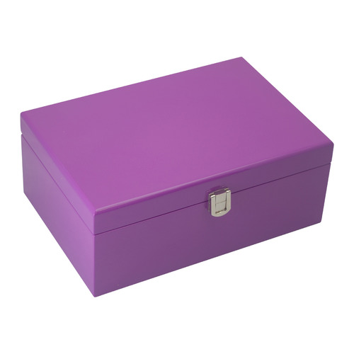 Kandi Medium Purple Kandi Luxury Jewellery Box