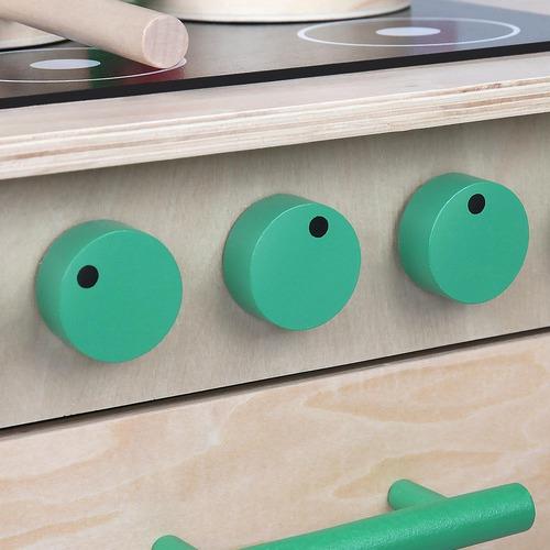 Dwell Kids Kids Wooden 8 Piece Kitchen Play Set