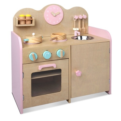 Dwell Kids 7 Piece Wooden Kitchen Set