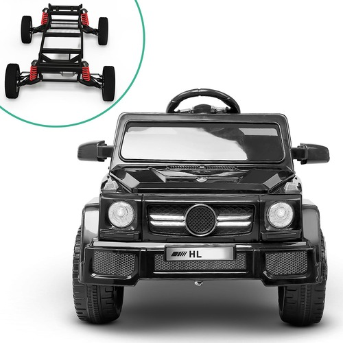 Dwell Kids Black Ride On Toy Car