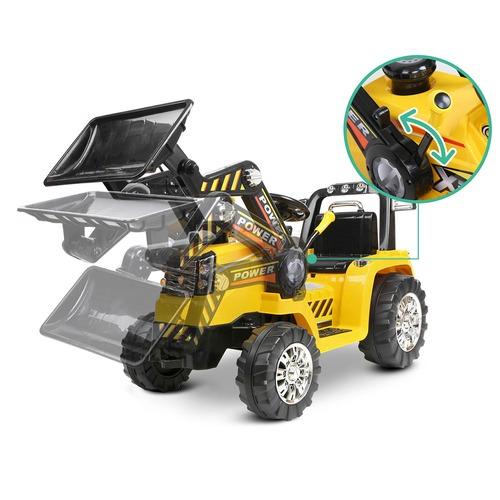 Dwell Kids Kids Ride-On Toy Bulldozer