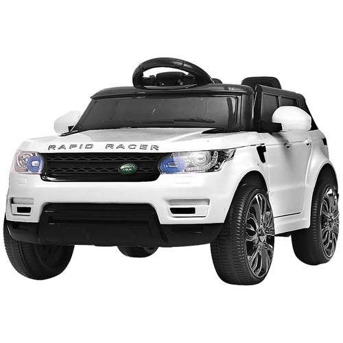 Dwell Kids White Rangerover Ride-On Toy Car