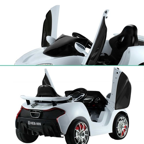 Dwell Kids White Ride-On McLaren Toy Car