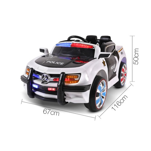 Dwell Kids Kids' Ride-On Police Ford Car