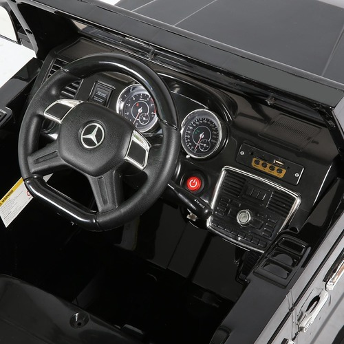 Dwell Kids Black Ride On Mercedes Benz G65 Toy Car