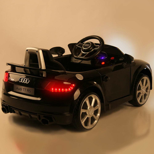 Dwell Kids Black Ride On Audi TT RS Roadster