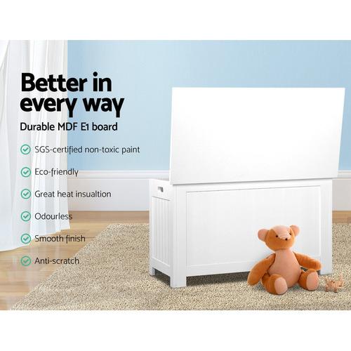 Dwell Kids White Eclipse Kids' Toy Storage Cabinet