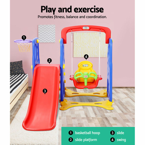 Dwell Kids Kids Perry 3 -in-1 Play Centre