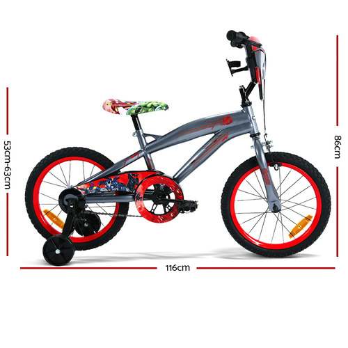 Dwell Kids Disney Avengers Huffy Bicycle with Training Wheels