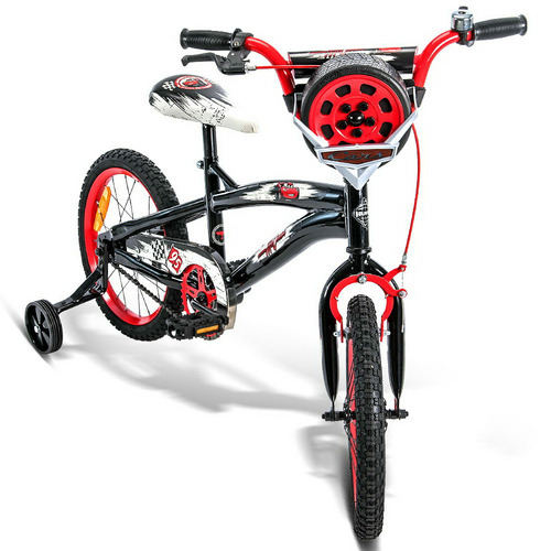 Dwell Kids Pixar Cars Huffy Bicycle with Training Wheels