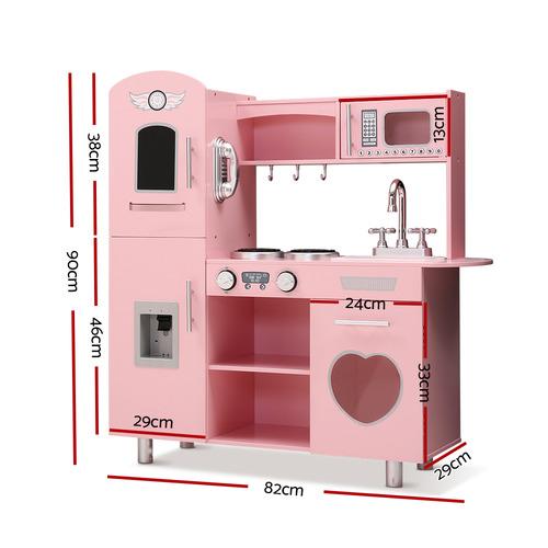 Dwell Kids Pink Benette Kitchen Play Set