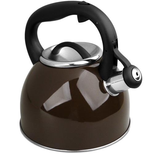 CS KOCHSYSTEME 2.5L Brown Bonn Whistling Kettle