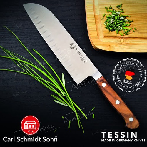 Carl Schmidt Sohn Tessin 18cm Santoku Kitchen Knife