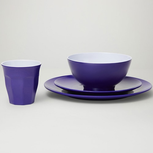 Barel Designs Fiesta Classic Pro Melamine Dinner Set