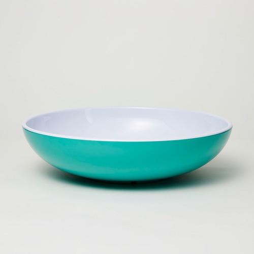 Barel Designs 3 Piece Green Deluxe Melamine Salad Bowl & Server Set