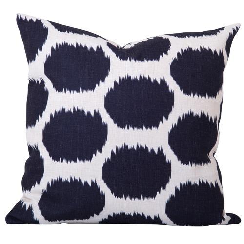 Cushion Bazaar Black Ikat Arzu Cushion