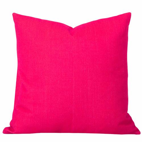Cushion Bazaar Pink Watermelon Solid Georgia Cushion