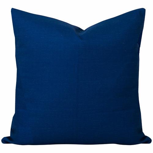 Cushion Bazaar Blue Plain Bayou Cushion