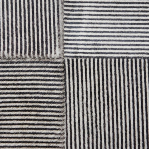 Banyan Home Stripe Cowhide Leather Cushions